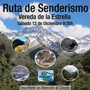 """RUTA DE SENDERISMO IonFit """" Vereda de la Estrella """""""