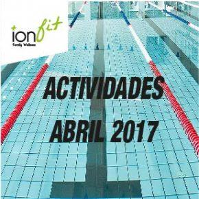 Actividades Especiales Abril 2017