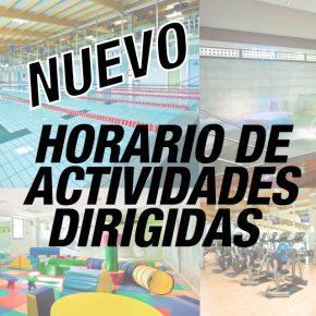 NUEVO PANEL DE ACTIVIDADES DIRIGIDAS