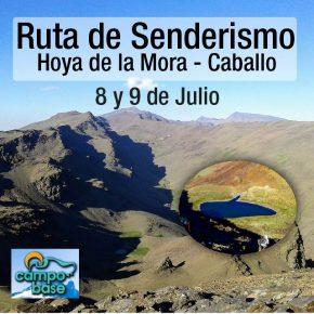 RUTA DE SENDERISMO JULIO 2017: HOYA DE LA MORA-CABALLO