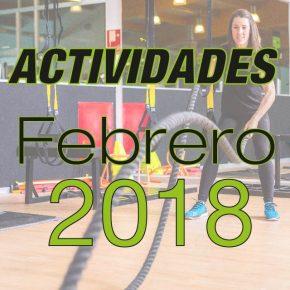 ACTIVIDADES DE FEBRERO EN IONFIT