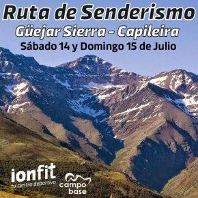 RUTA DE SENDERISMO GÜEJAR SIERRA – CAPILEIRA