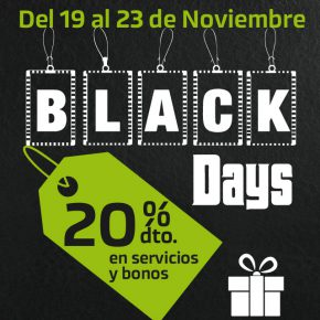 LLEGAN LOS BLACK DAYS A IONFIT